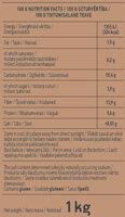 Rye Flour - Nutrition facts - en