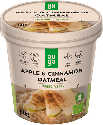 Apple & Cinnamon Oatmeal - Product - en
