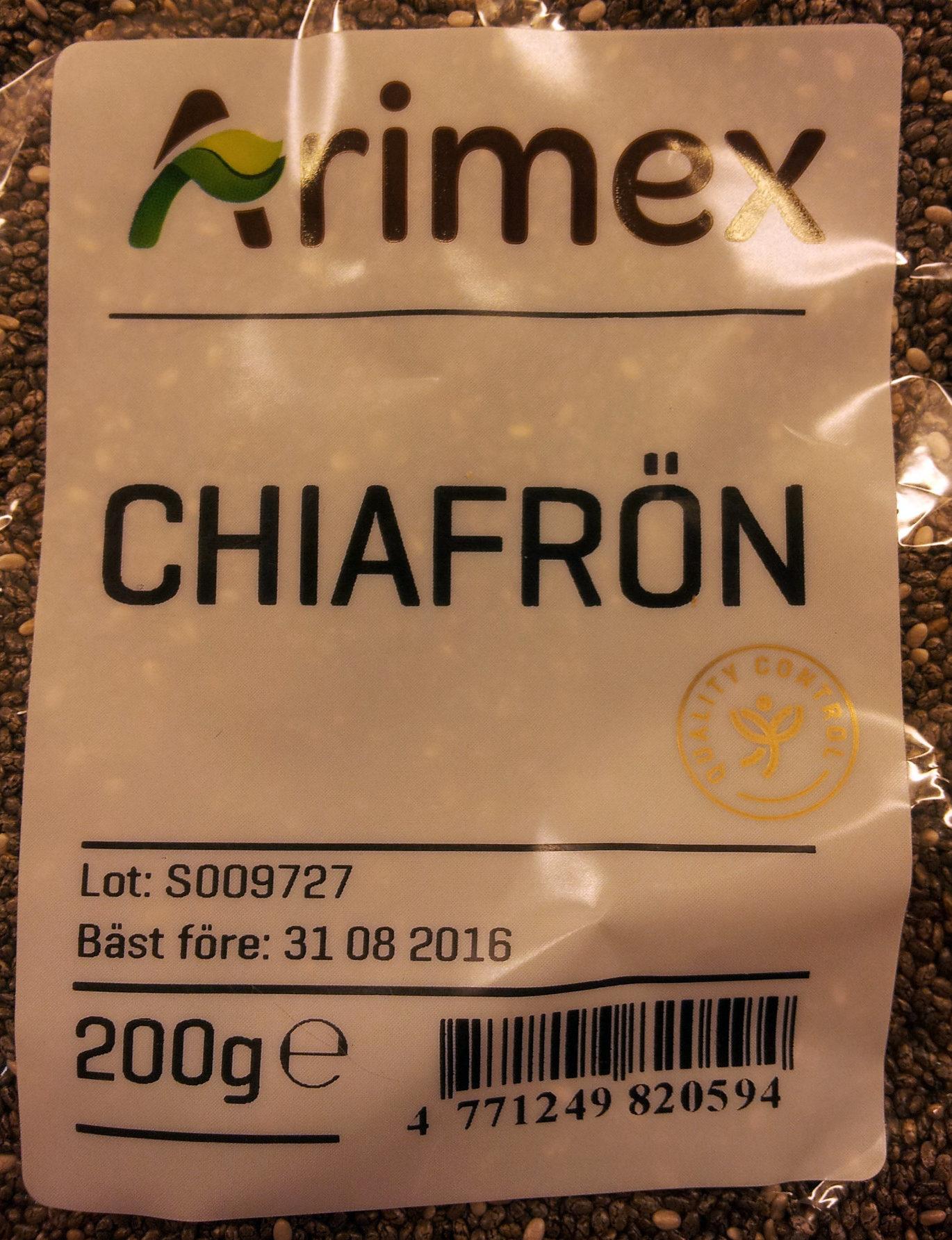 Chiafrön - Produit - sv