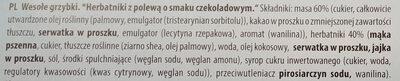 Wesołe grzybki - Ingrédients - pl