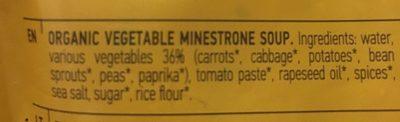 Minestrone Soup - Ingrédients - fr