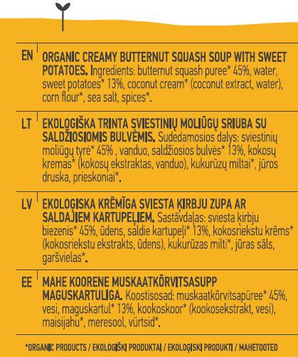 Butternut Squash Soup - Ingredients - en