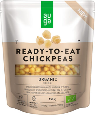 Ready-To-Eat Chickpeas - Product - en
