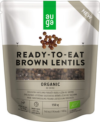 Ready-To-Eat Brown Lentils - Product - en