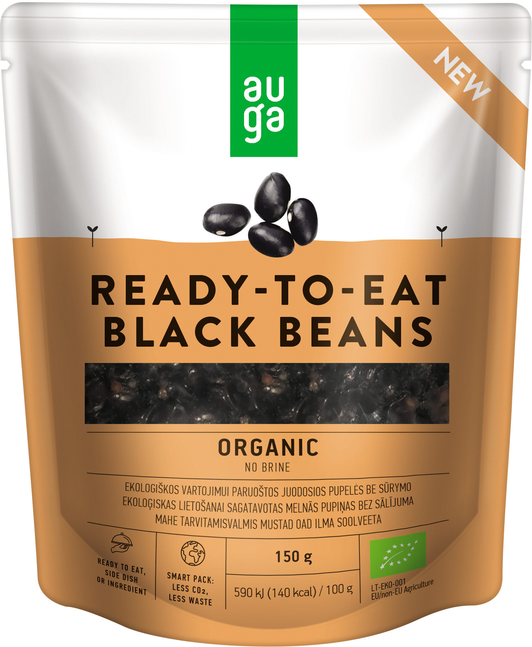 Ready-To-Eat Black Beans - Product - en
