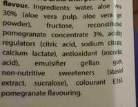 ALEO WATER - Ingredients - en