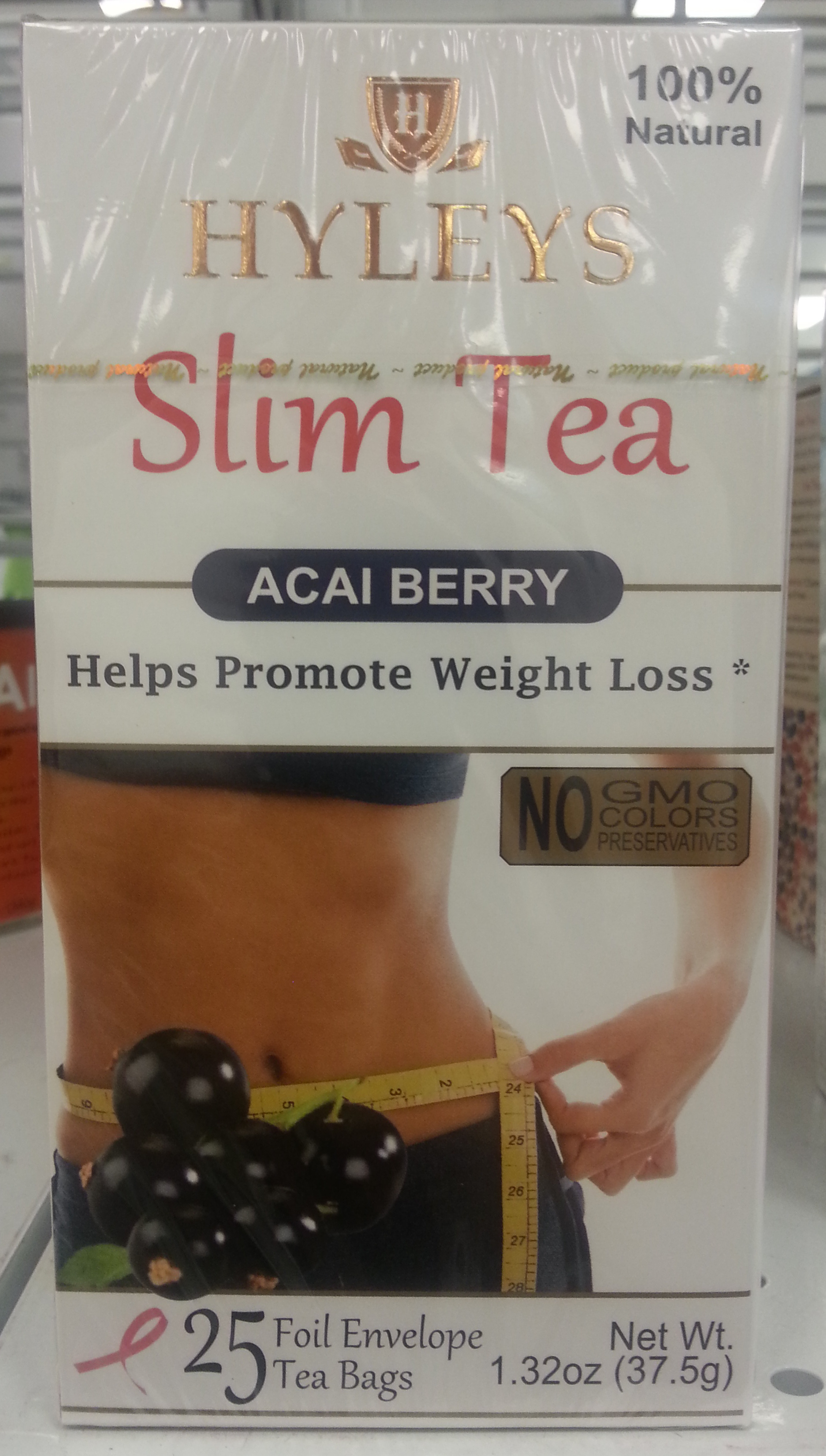 Slim Tea Acai Berry - Product - en