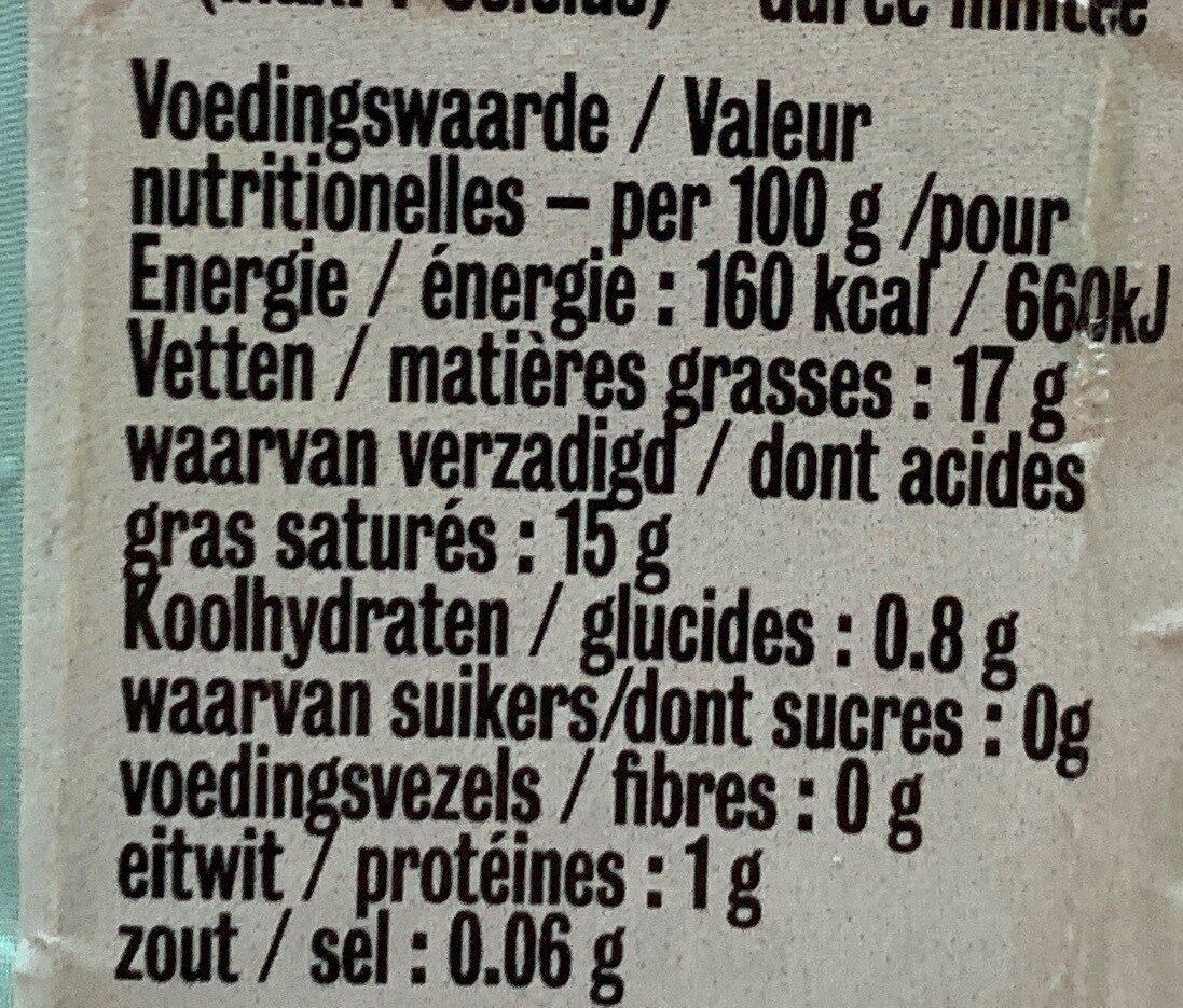 Coconut cuisine - Informations nutritionnelles - fr