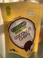 Coconut chips simply raw - نتاج - fr