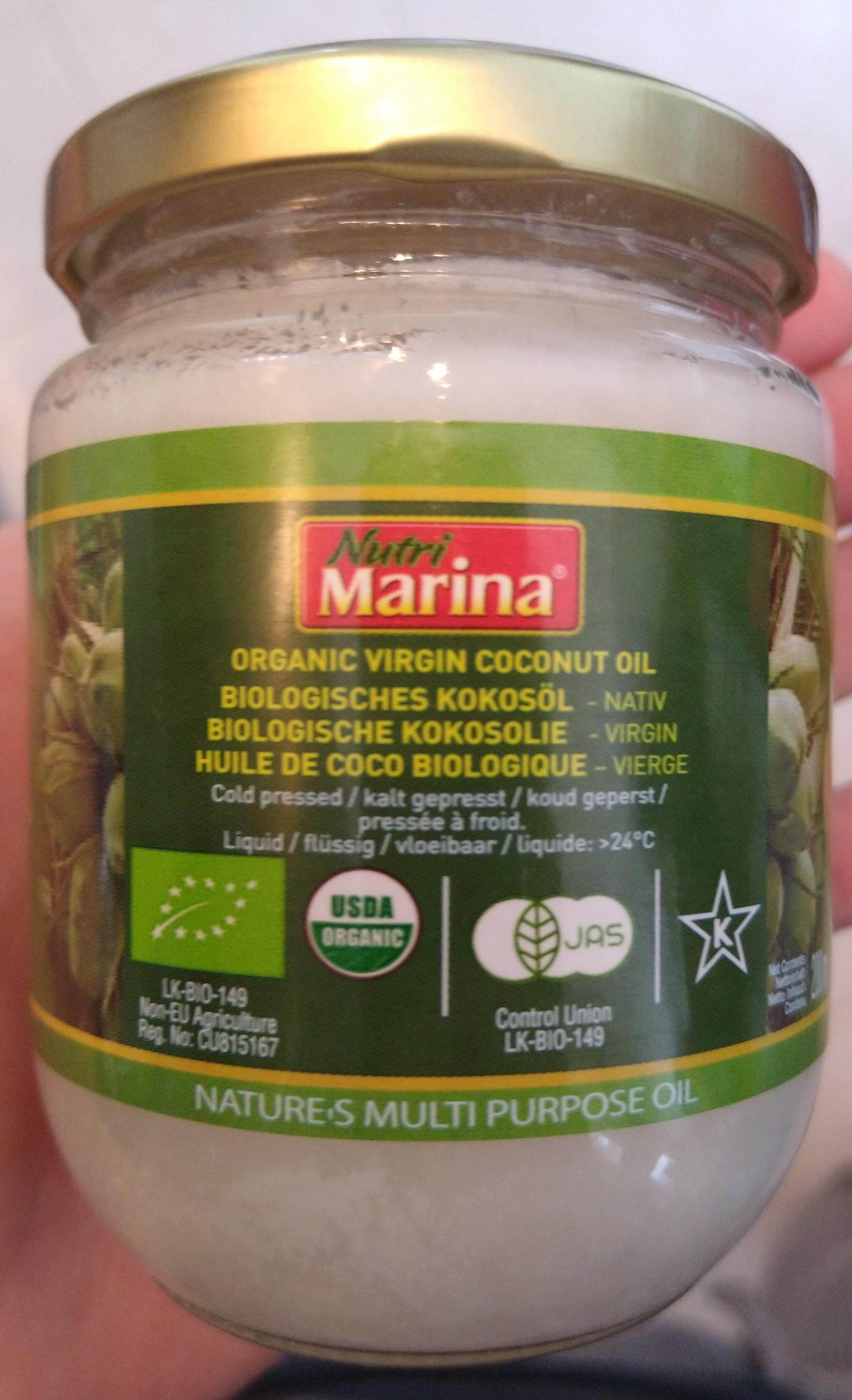 organic Virgin coconut oil - Product - it