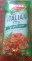 Italian style spaghetti sauce - Product - en