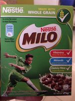Nestle Milo Breakfast Cereal Chocolate Malt Flavoured 25 G. - Produit - fr