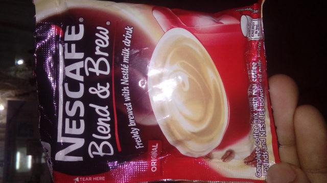 Nescafé Blend & Brew - Product