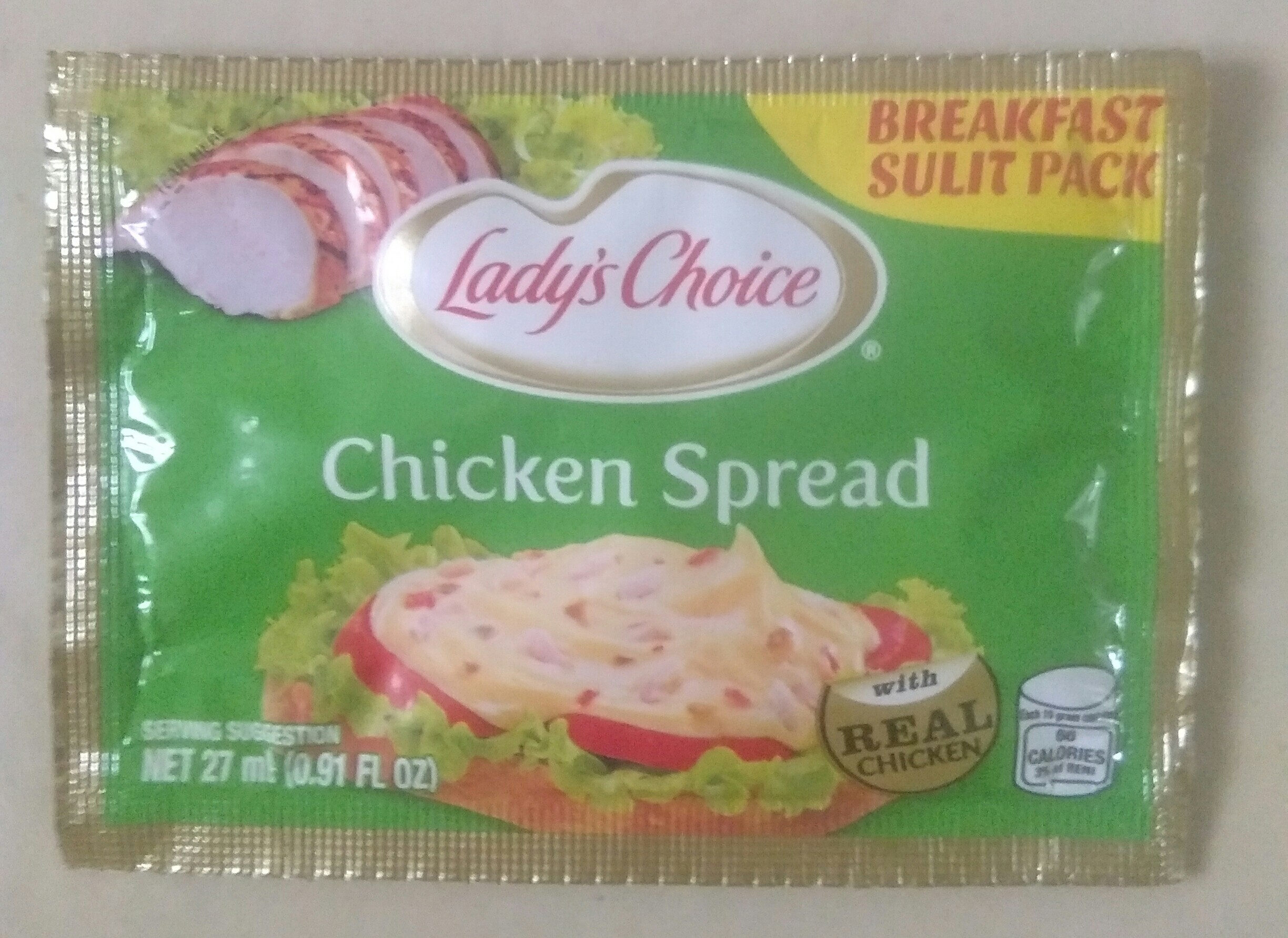 Lady's Choice chicken spread - Product