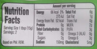 Lady's Choice chicken spread - Nutrition facts