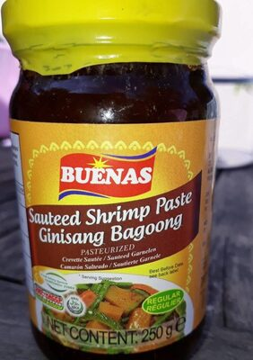 Sauteed shrimp Paste - Product - fr
