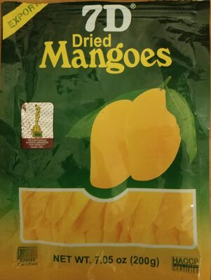 Dried Mangoes - Product