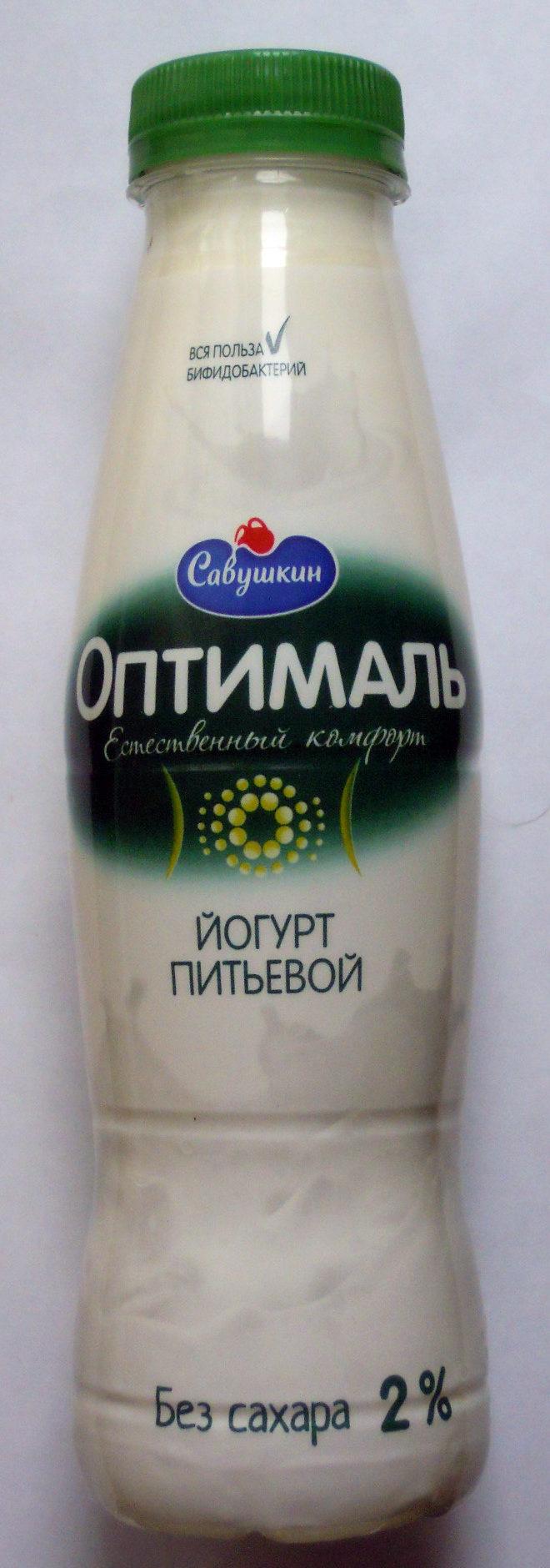 «Оптималь» без сахара - Produit