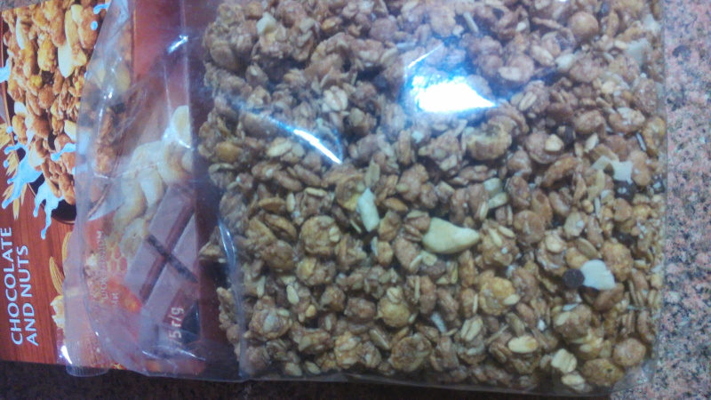 Muesli grispy - Nutrition facts