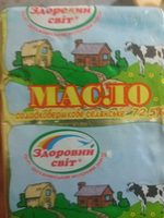 Масло - Product