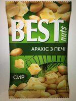 Арахис Best nuts из печи жареный соленый со вкусом сыра - Product - uk