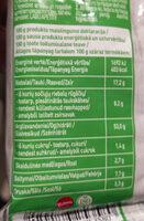 Instant noodle chicken flavour - Nutrition facts - en