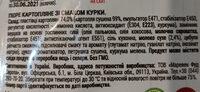 Rollton пюре картопляне - Ingredienti - ru