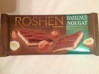 Roshen Ciocolată cu lapte și nuga de alune - Product