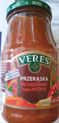 Przekąska po Gruzińsku typu ADŻYKA - Product - pl