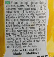 mango - Ingredienti - en
