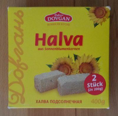 Halva aus Sonnenblumenkernen - Produkt