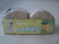 Flamingo Biscuiți Infinity cu aromă de lamâie - Produit - ro