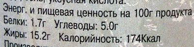 Оливки фаршинованные чесноком - Пищевая и энергетическая ценность - ru