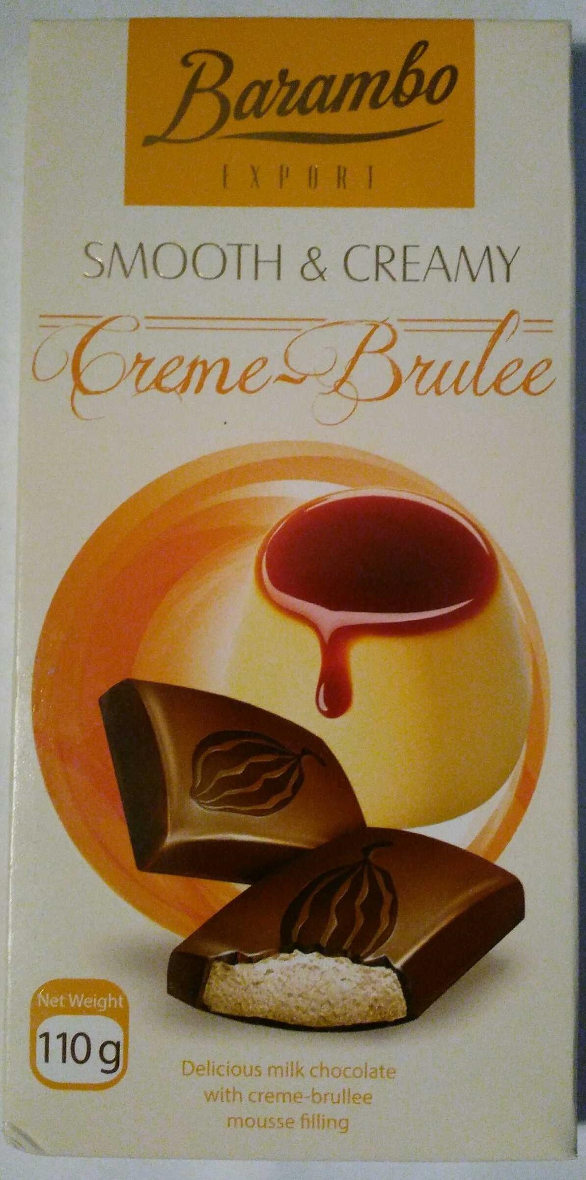 Молочный шоколад с муссом крем-брюле - Продукт - ru
