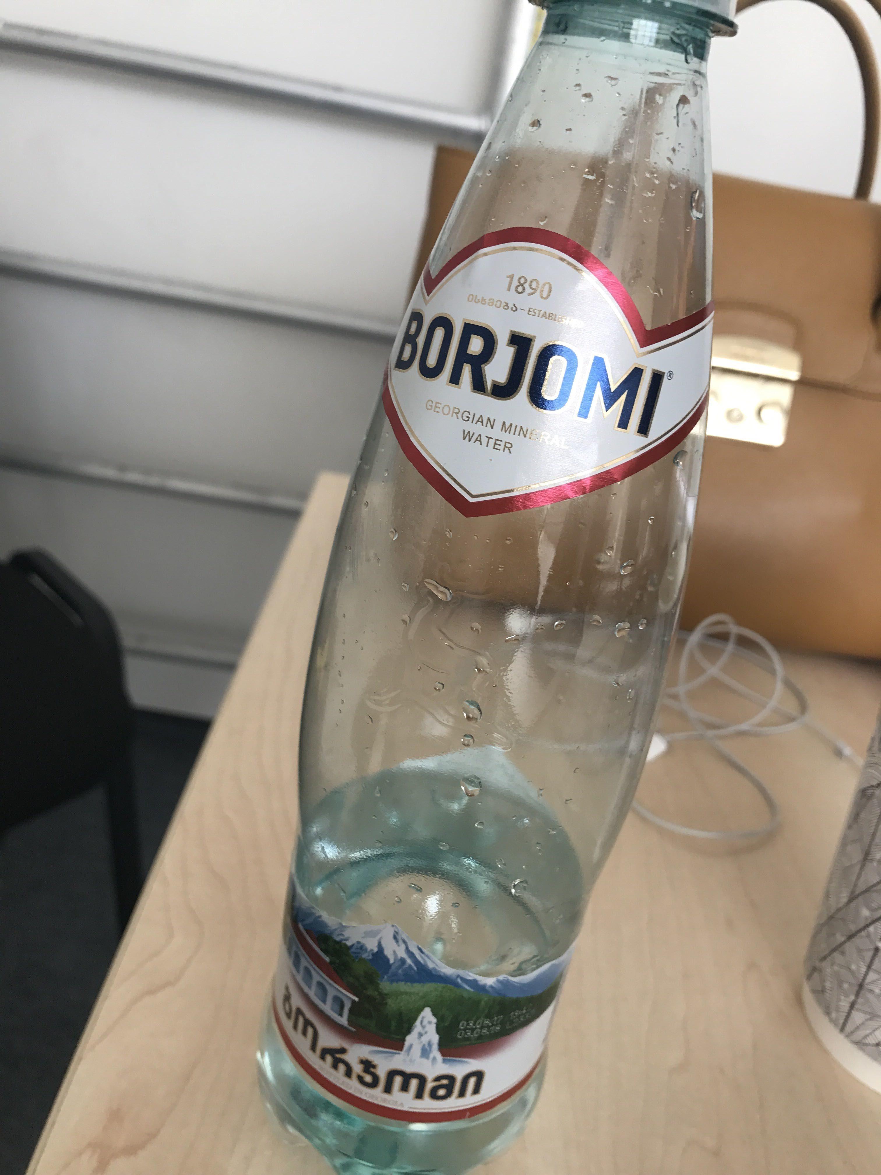 Georgian natural mineral water - Продукт - ru