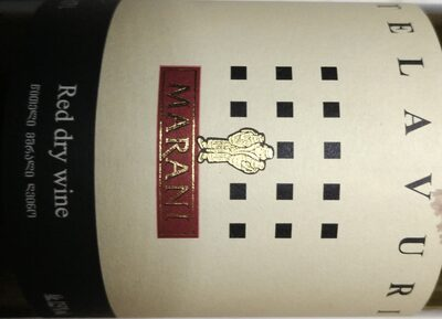 Telavuri Red dry wine - 1