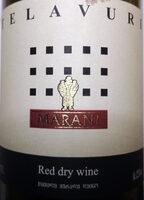 Telavuri Red dry wine - Produkt - en