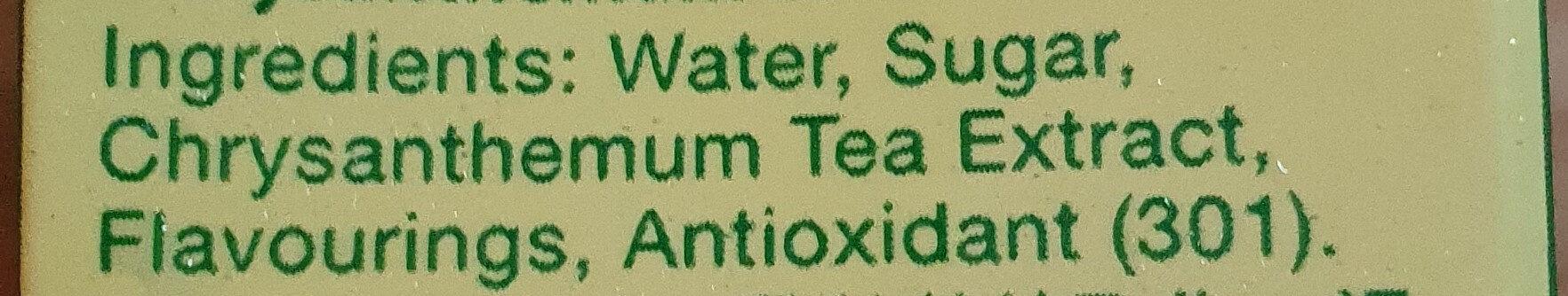 Chrysanthemum Tea - Ingrédients - en