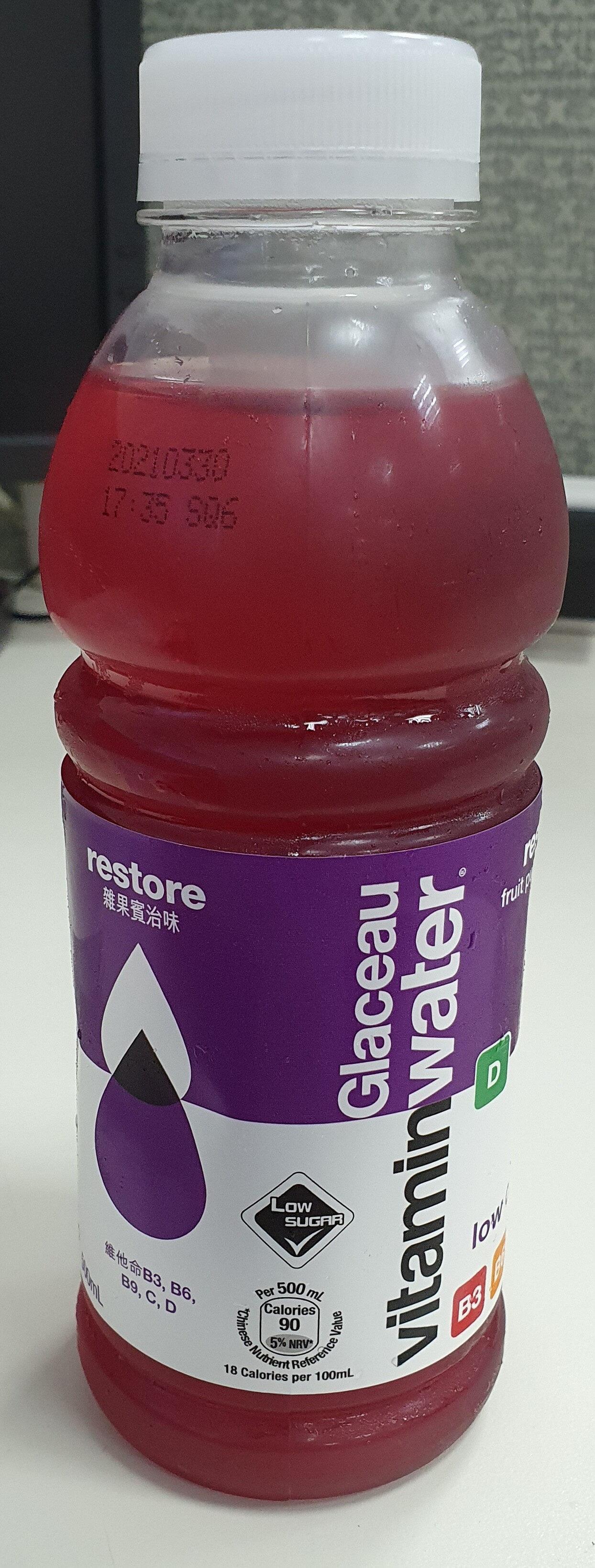 nutrient enhanced water beverage - Produit - en