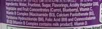 nutrient enhanced water beverage - Ingrédients - en
