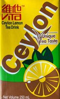Ceylon lemon tea drink - 产品 - en