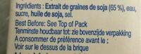 Vitasoy Soya Drink 250ML - Ingredients - fr
