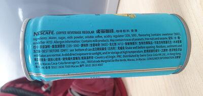 regular coffee - Ingrédients - en