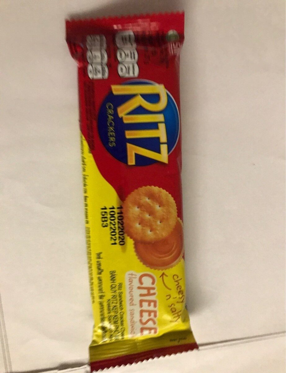 RITZ Crackers Cheese - Produit - th
