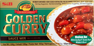 Golden Curry - Sauce mix - Prodotto - fr