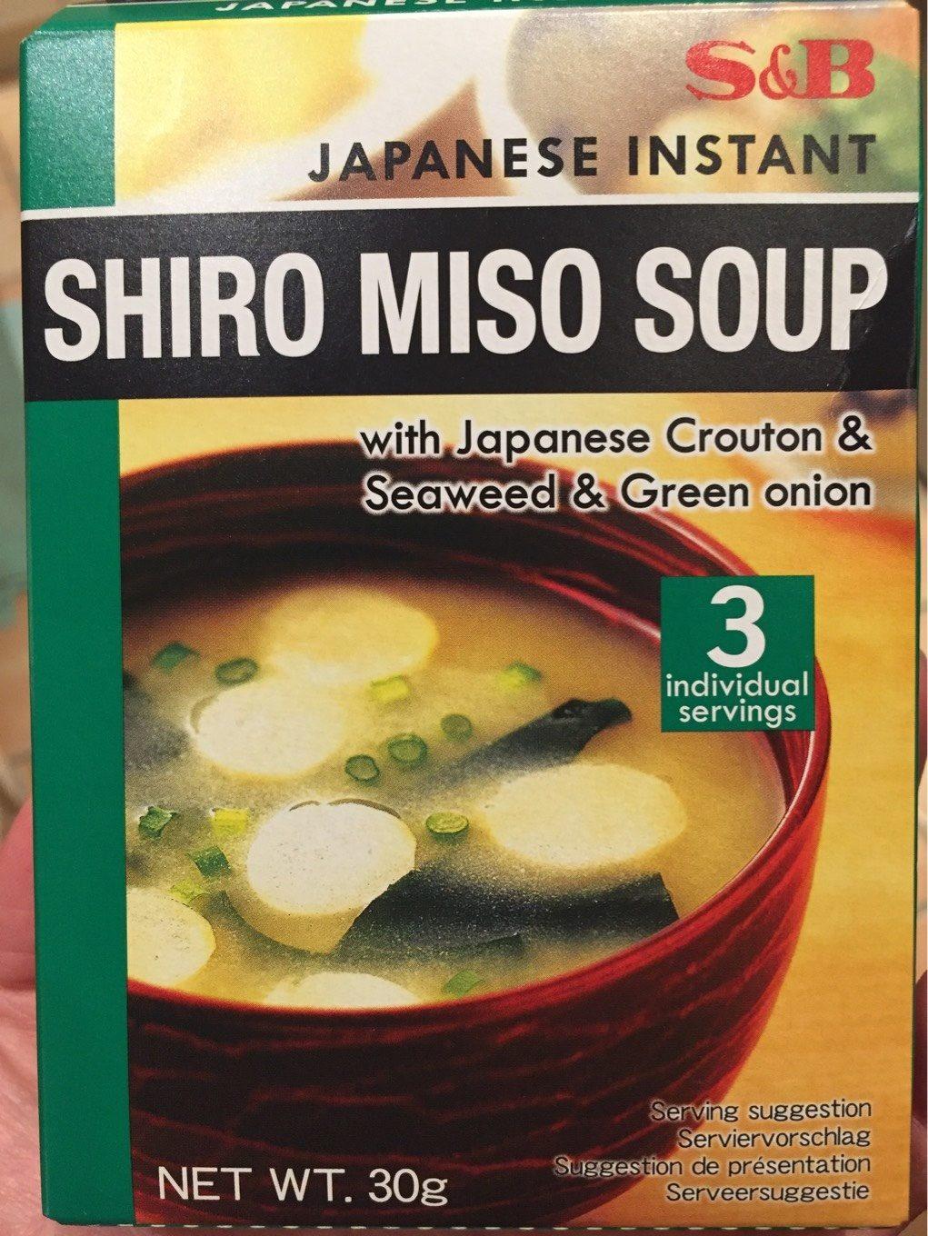 White Miso Soup - Prodotto - fr