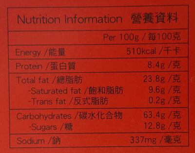 Pretz Roast Biscuit Sticks - Nutrition facts - en
