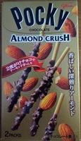 Pocky chocolate Almond crush - Produit - ja