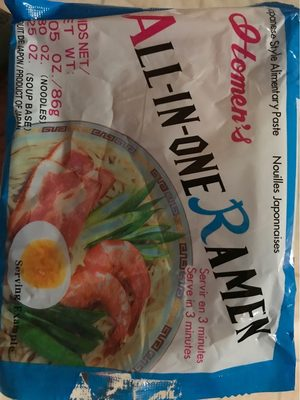 All-In-One Ramen - Product
