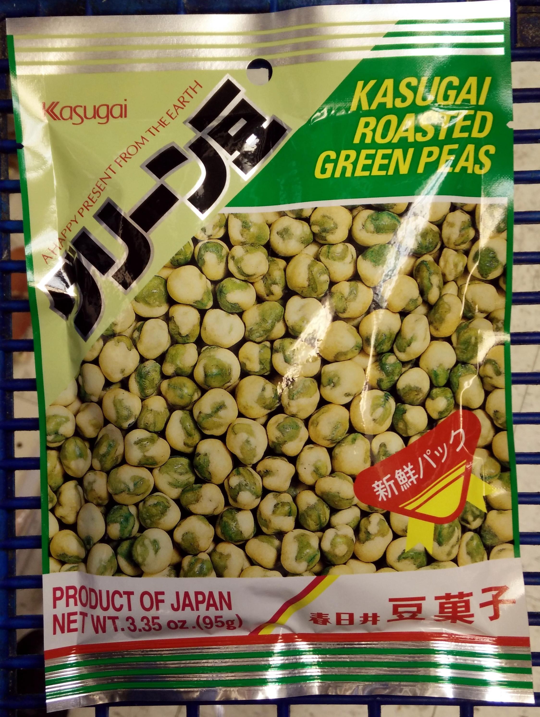 Kasugai roasted Green Peas - Product - en